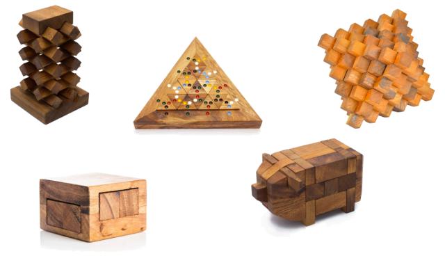 Ama Wood Puzzles