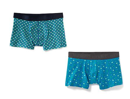 St. Patrick's Day Old Navy Boxers