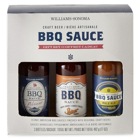 Craft Beer BBQ Sauce Gift Set