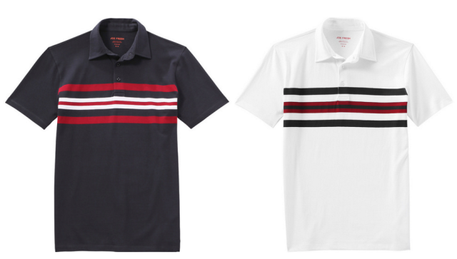 Joe Fresh Polo Tees