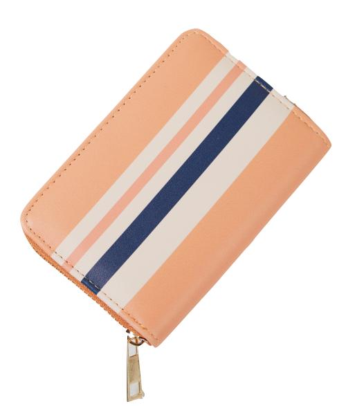 Striped Mini Wallet