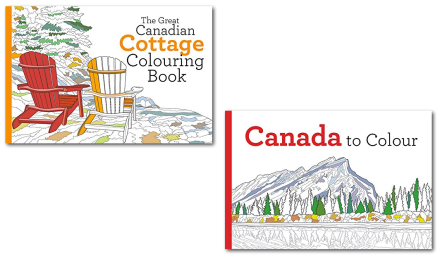 Canadian Colouring Books