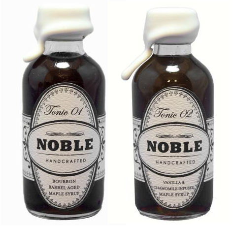 Noble Handcrafted Mini Maple Syrups