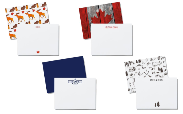 Printed Matter Stationery Canadiana