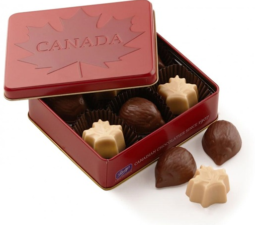 Purdy's Canadian Maple Leaf Tin