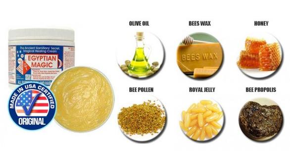 Egyptian Magic Ingredients