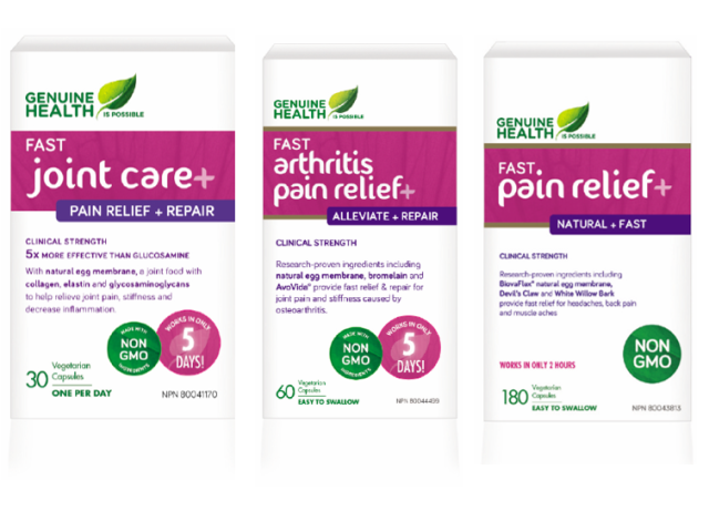 Genuine Health Pain Relief Products
