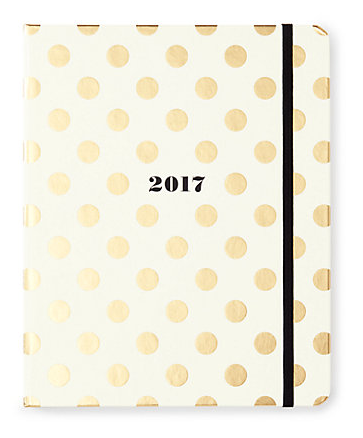 Kate Spade Gold Dots 17-Month Agenda