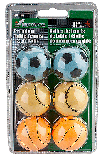 Swiftflyte Table Tennis Balls