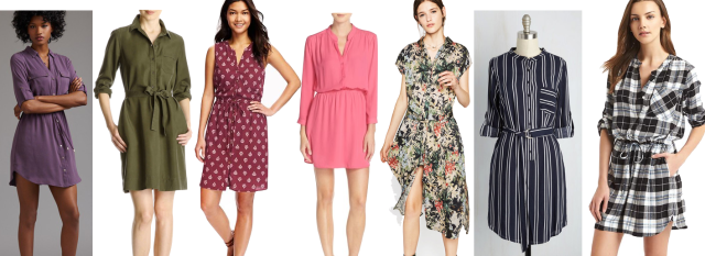 Trend Watch Shirtdresses