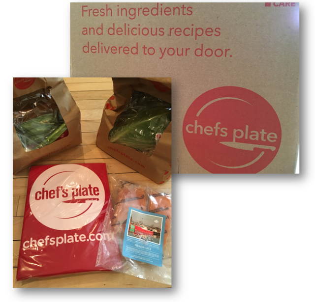 Chef's Plate Packaging
