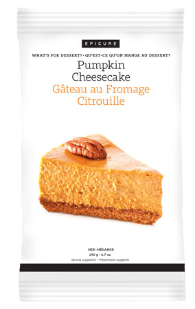 Epicure Pumpkin Cheesecake