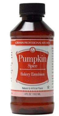 LorAnn Pumpkin Spice Bakery Emulsion