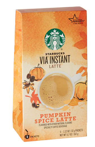 Starbucks Via Instant Latte Pumpkin Spice