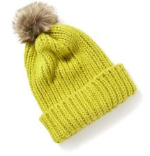 Sweater-Knit Pom-Pom Beanie - $11.50 @ Old Navy