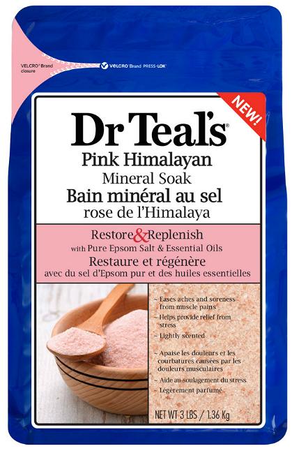 Dr Teals Pink Himalayan Salt