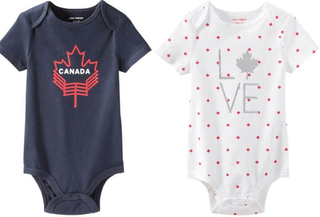 Joe Fresh Canada Bodysuits