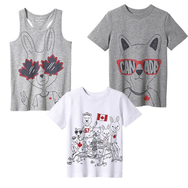 Joe Fresh Canada Kids Tees