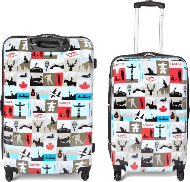 Sears Canada Day Luggage