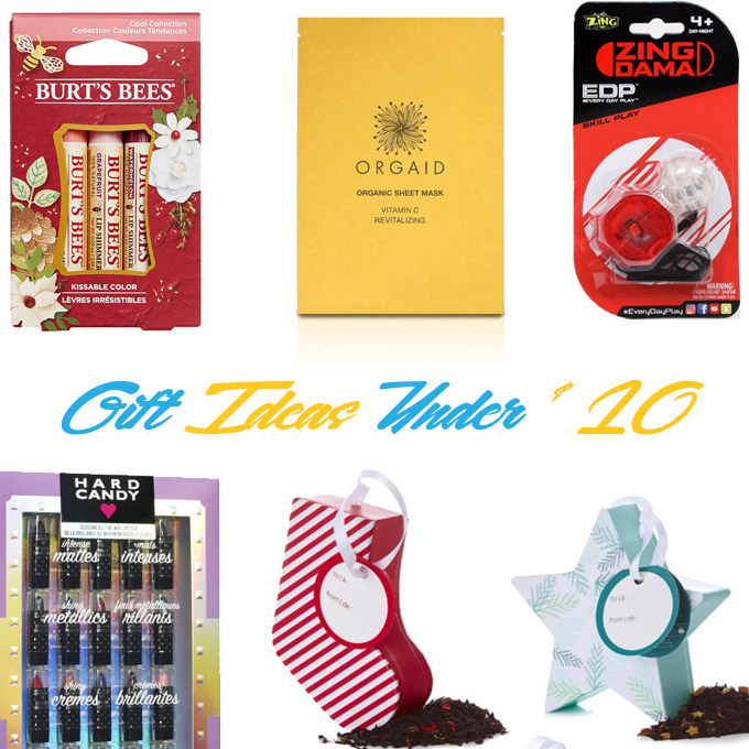 Top christmas gift ideas for under $10