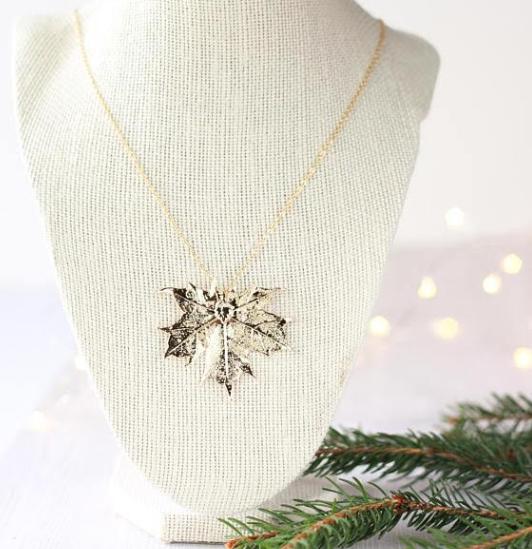 Birch Jewellery Maple Leaf Necklace
