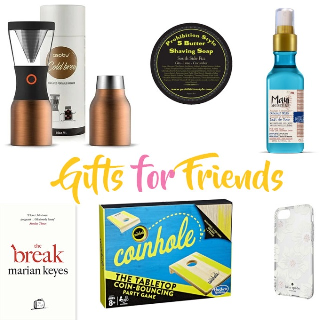 Gifts for Friends 2017