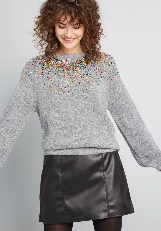 Ready for Confetti Sweater