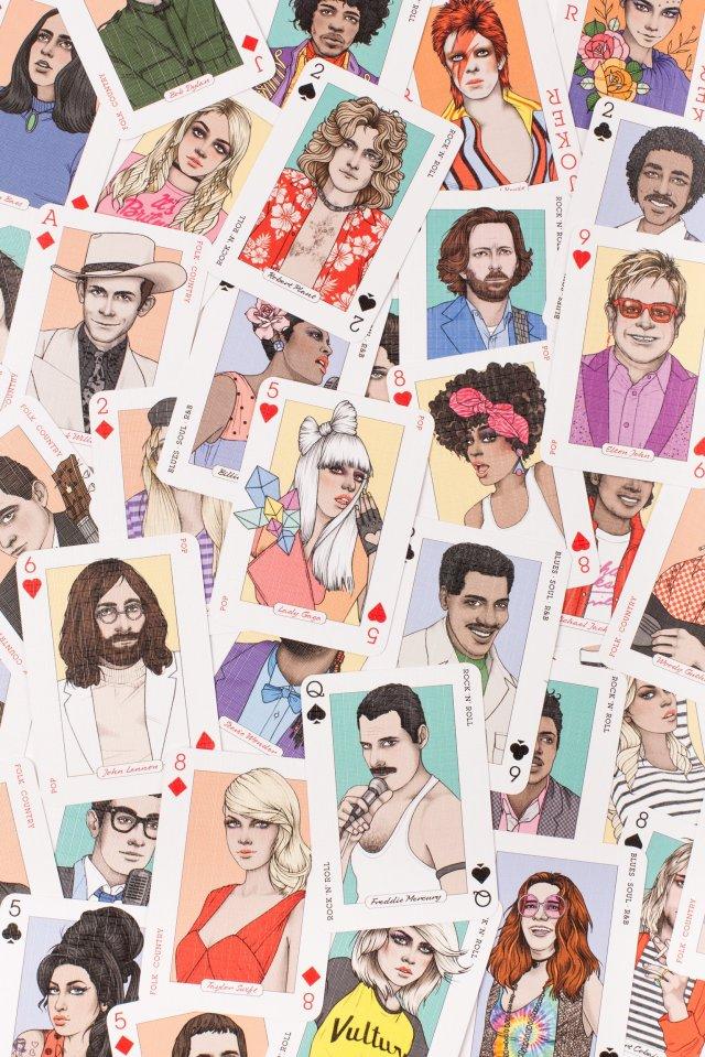 Genuis Music Cards